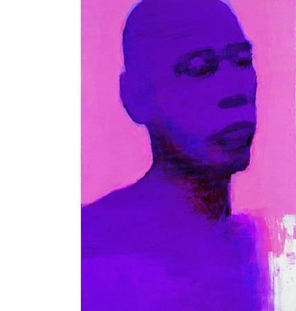 張志成 Maxi Jazz畫像 89x129cm 2007
