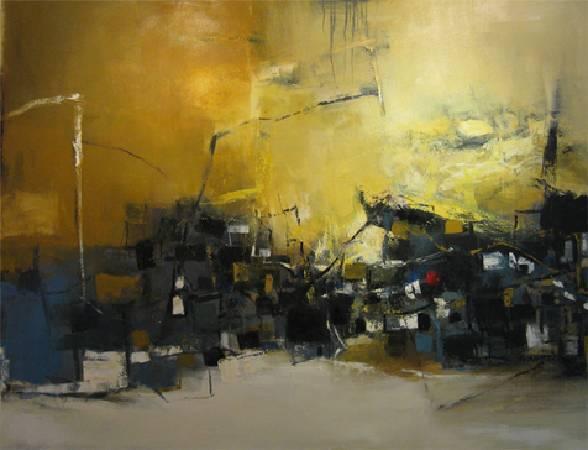 山城外記 2010 油畫 80F