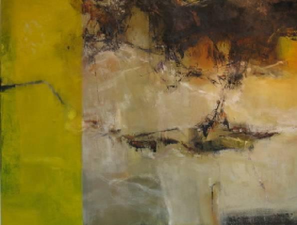海線山城 油畫 60F