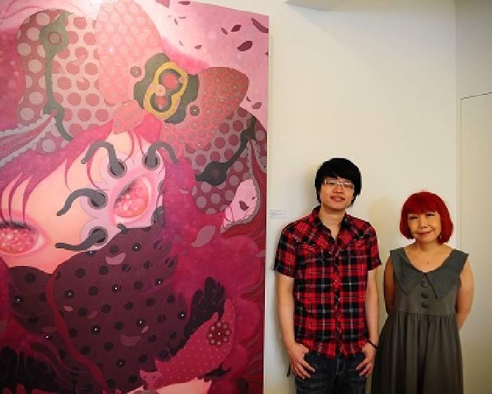 Okey Dokey Gallery & Café 【女孩的內心戲】邱銍韋2011個展