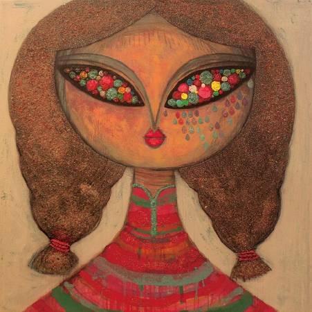 亮晶晶1號,145 x 145 cm,2012