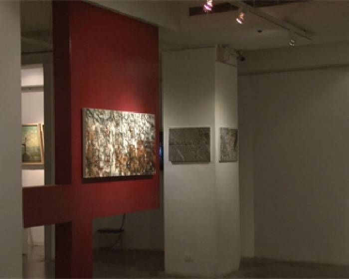 月臨畫廊:【卓有瑞的虛實空間詩學】卓有瑞個展