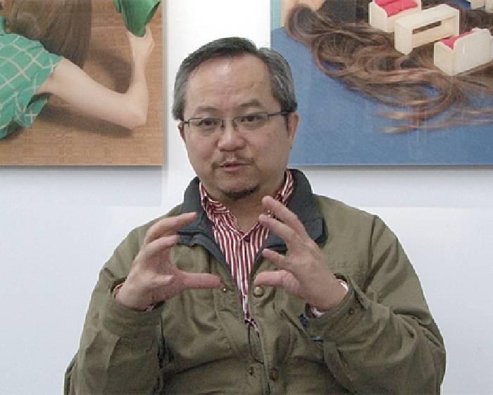 張學孔:市場性學術性 要雙管齊下【藝術銀行系列報導】