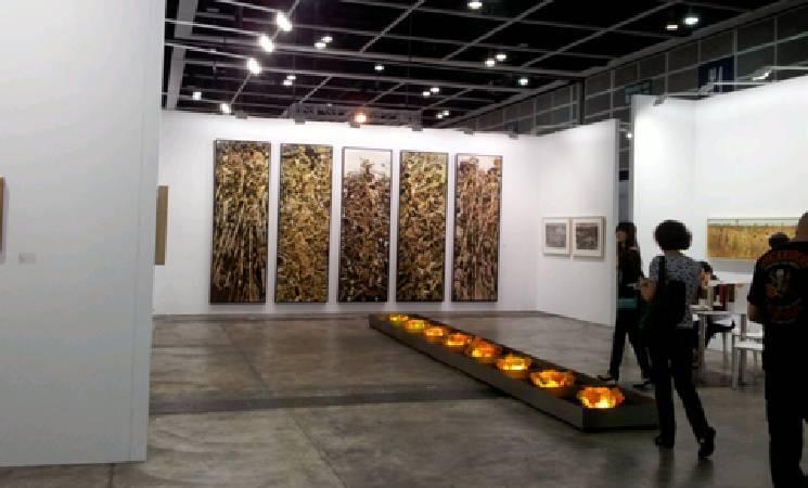 耿畫廊香港巴塞爾藝術展展區
