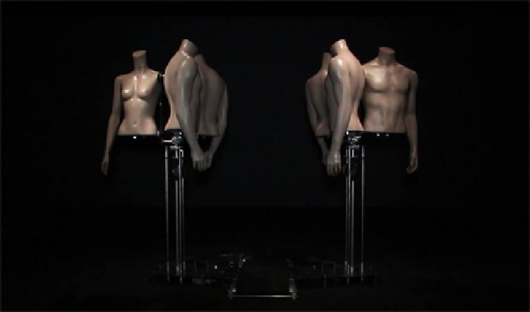 劉瀚之,《無情散步機》。圖/非池中藝術網攝。
