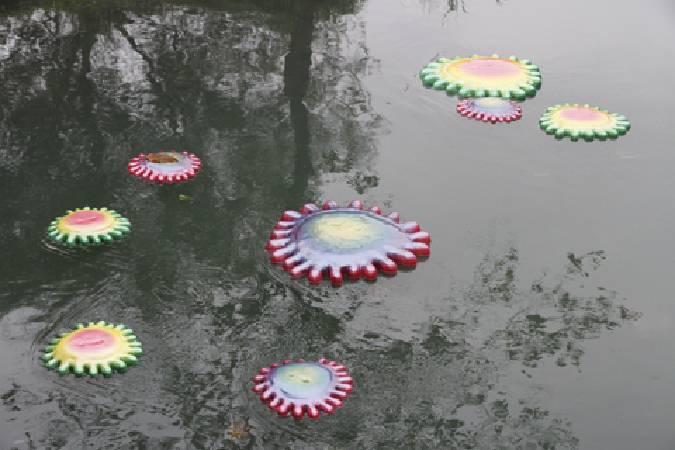 黃蘭雅 ,〈水花漂〉。圖/非池中藝術網攝。
