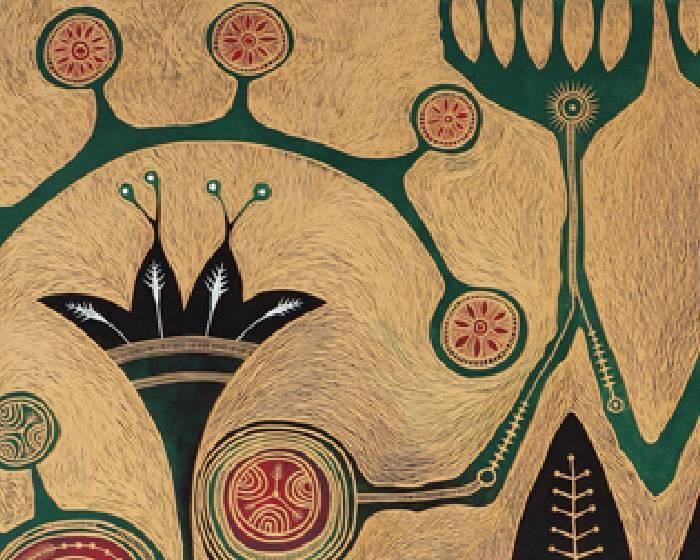 台北市立美術館:【山上的風很香─遇見伊誕的紋砌刻畫】