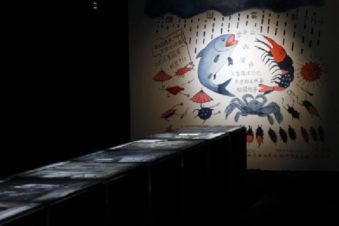 高俊宏〈廢墟影像晶體計畫:十個場景〉。圖/非池中藝術網攝。