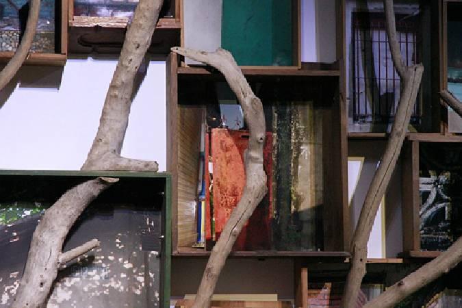 黃步青〈消失的記憶〉。圖/非池中藝術網攝。
