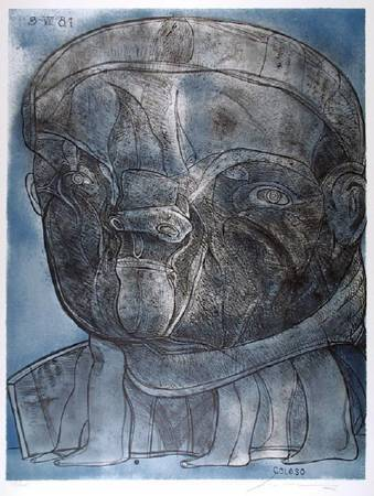 Jose-Luis-Cuevas,《Colossus》。圖/擷取自網路。