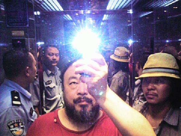 艾未未,《Illumination 》。圖/台北藝博會提供。