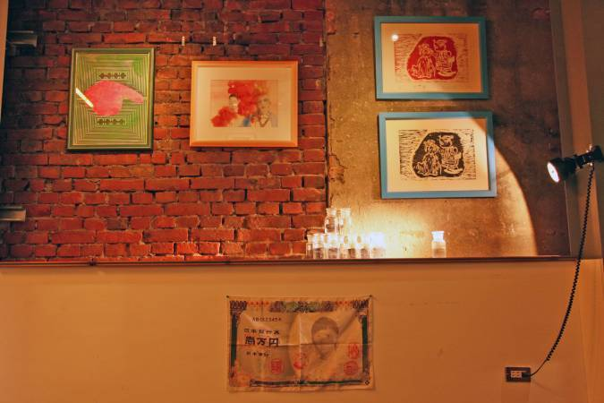 (由左至下) 英國藝術家 Mark Aerial Waller (RODEO Gallery提供)、台灣藝術家楊凱婷。 圖/策展人楊凱婷提供。