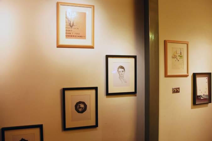 英國藝術家 Eddie Peake(White Cube gallery  提供) 圖/策展人楊凱婷提供。