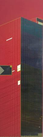 《建築物 No.1 The building No.1》,  壓克力彩 、畫布 2009。
