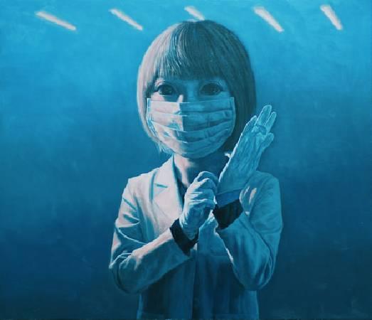 《無題》, 油彩、畫布 2011。