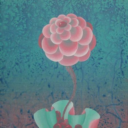 《寂寞的溫柔》, 壓克力彩 2011。