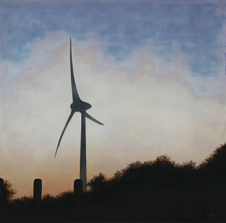 《邊緣‧輪廓 43》,  複合媒材 、畫布 2011。
