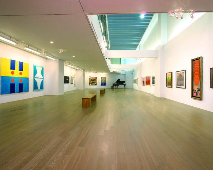 尊彩藝術中心:【抽象.符碼.東方情】臺灣現代藝術巨匠大展