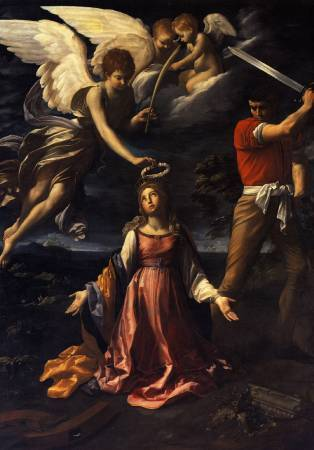 《Martyrdom of Saint Catherine of Alexandria》