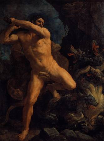 《Hercules Vanquishing the Hydra of Lerma》