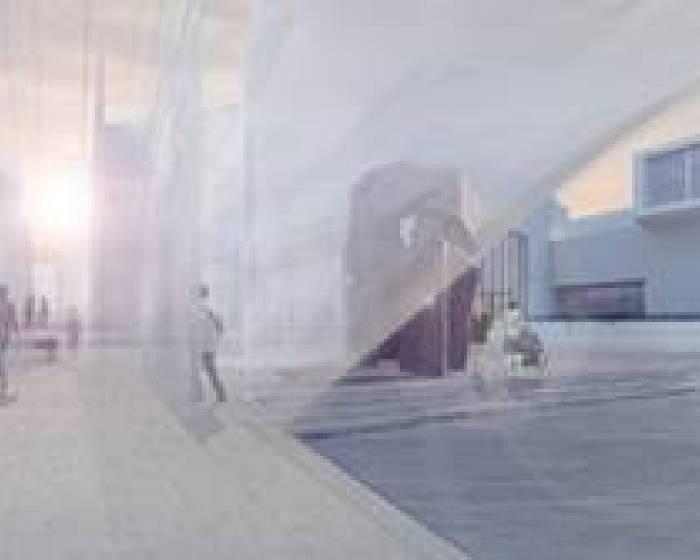 台北市立美術館【第二屆X-site計畫優勝團隊發表作品《未知的質域》概念】