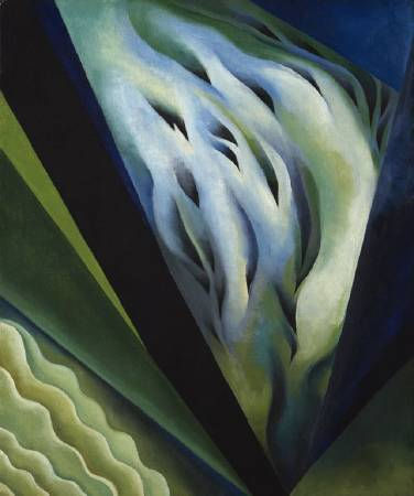 《藍與綠色音樂》(Blue and Green Music),1919 - 1921