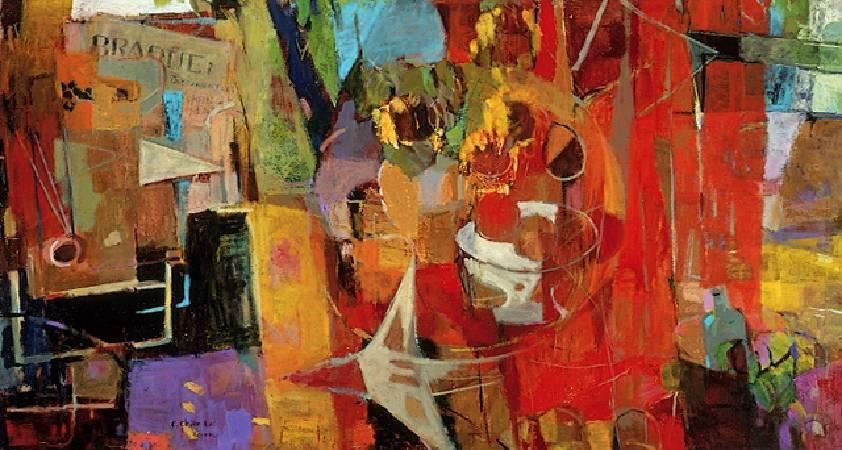 《布拉克頌》圖/取自高雄市立美術館。