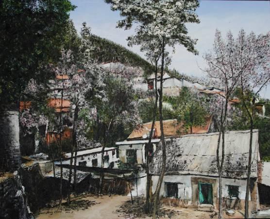 《青州井塘村之十七》。