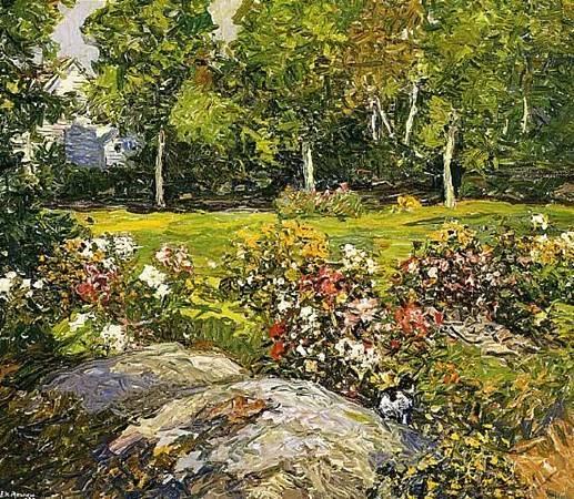《工作室花園》(The Studio Garden)