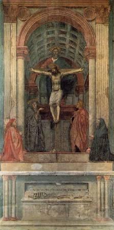 《聖三位一體像》(Holy Trinity), 1427-1428