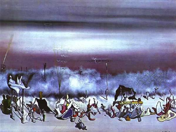 唐吉《極端的綬帶》(The Ribbon of Extremes),1932。