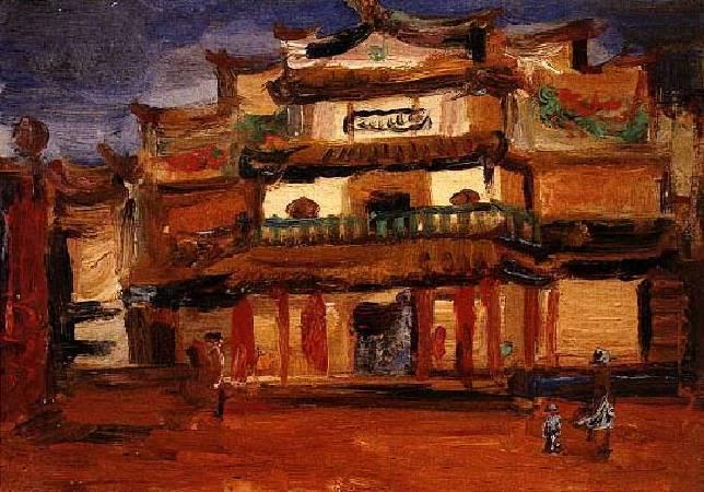 陳植棋《新舞台》,1925-1930。圖/取自視覺素養學習網
