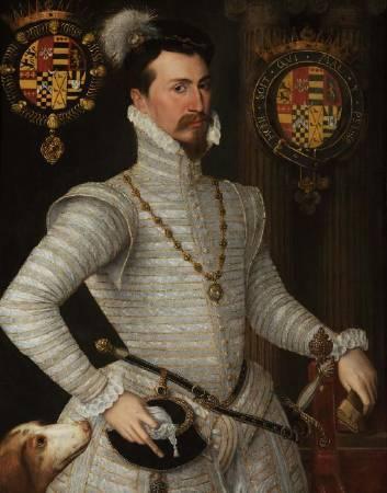 達德利肖像畫。圖/取自Waddesdon Manor。