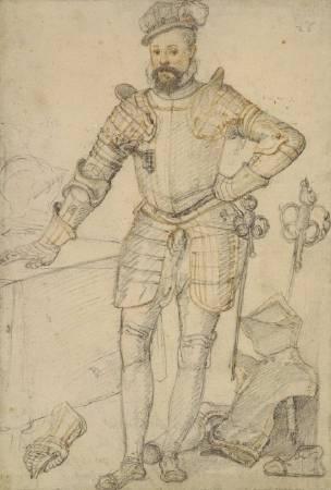 朱卡洛繪製,達德利草稿草稿