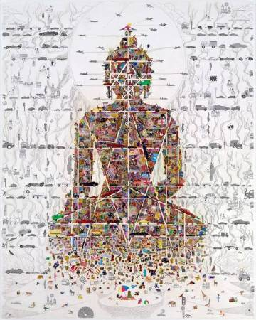 《Buddha In Our Time》,貢嘎嘉措,2010