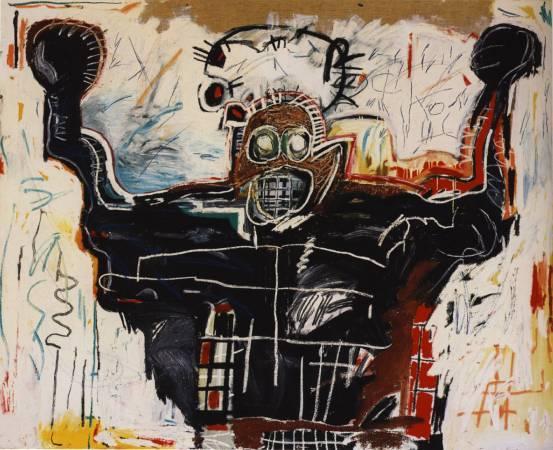 1982年,《拳擊手》。圖/取自Wiki Art。