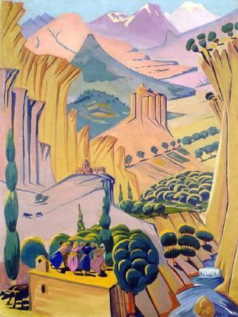 Martiros Saryan,《armenia》,1923。圖/取自wikiart。