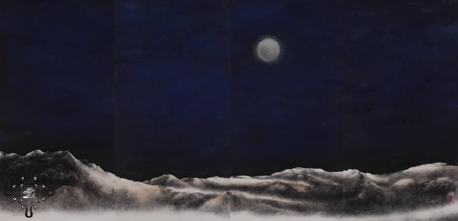 廖鴻興,《長相隨》,2013。