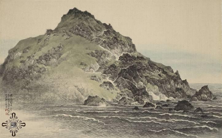 吳繼濤,《崩落的島》,2013。