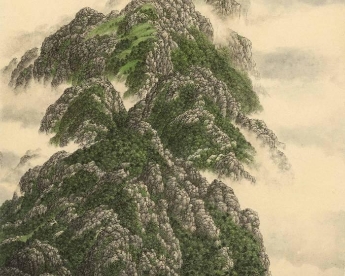 赤粒藝術【夏一夫 看山是水】山水長卷/冊頁專題展