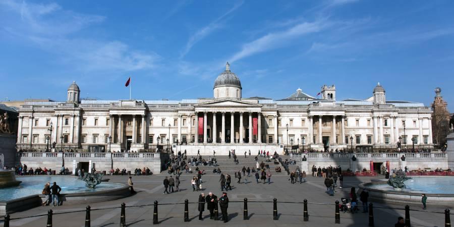 英國國家藝廊。圖/取自Wikipedia。