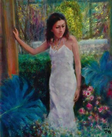 沈哲哉,《以色列女郎》,2009。