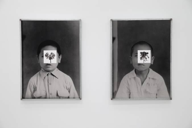 陳順築,《族譜肖像─叔叔》。圖/台北市立美術館提供。