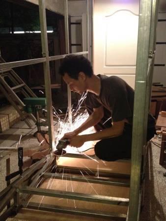 藝術家戴翰泓。圖/寶藏巖國際藝術村提供。