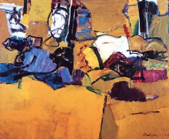 Grace Hartigan ,《American, 1922-2008》。圖/取自Art History