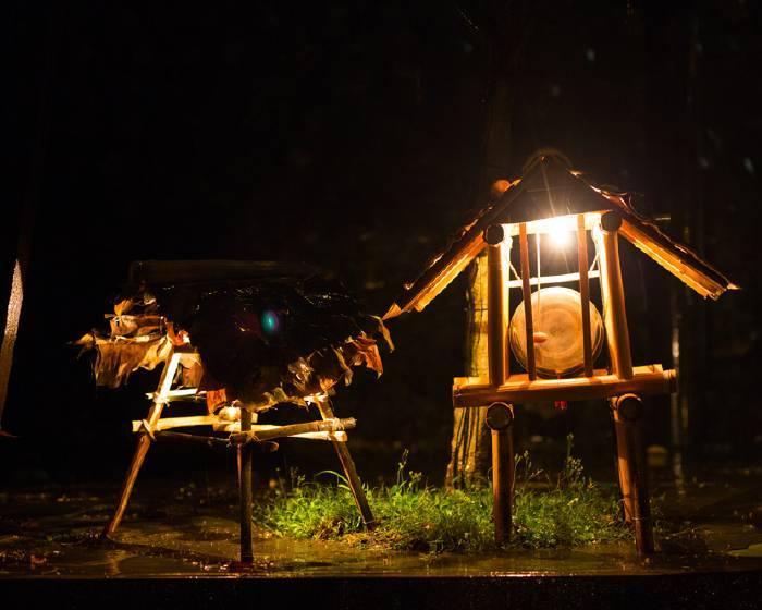 2015寶藏巖藝術燈節:西原尚《山城浮影》