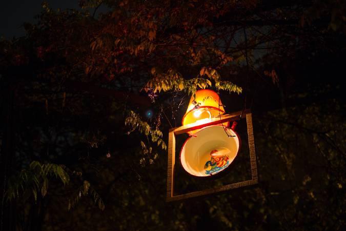 西原尚,《山城浮影》。圖/寶藏巖國際藝術村提供。