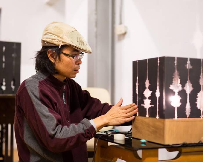 2015寶藏巖藝術燈節:曾偉豪《聲影-光語》