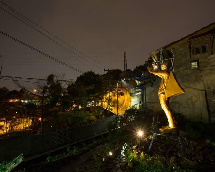 2015寶藏巖藝術燈節:阿部乳坊 《觀光》