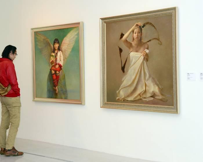 國立台灣美術館【不滿之見】繪畫最佳完成狀態探討
